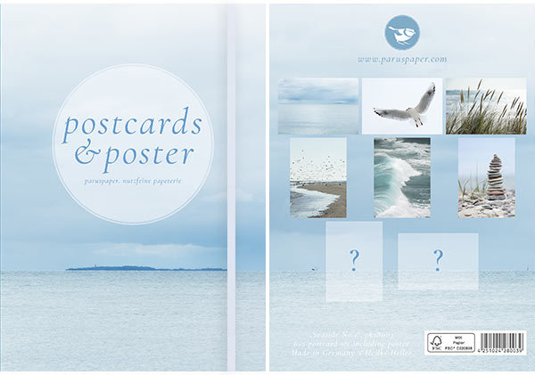 "Postkartenset ""Seaside No.1"""